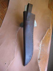 Leuku Knife and Sheath