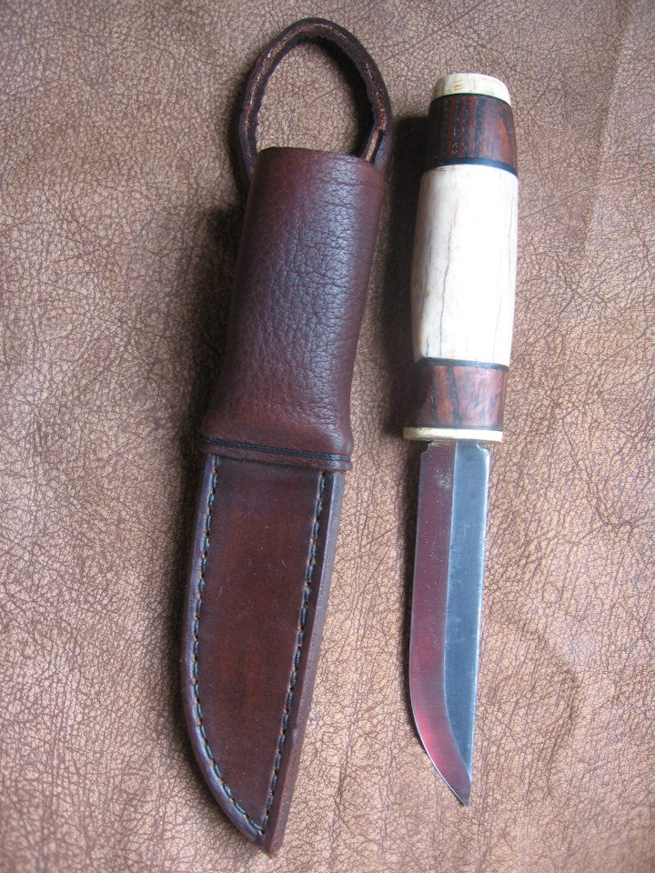Saami Style Knife and Sheath