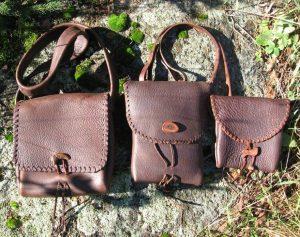 Buffalo Hide Bags