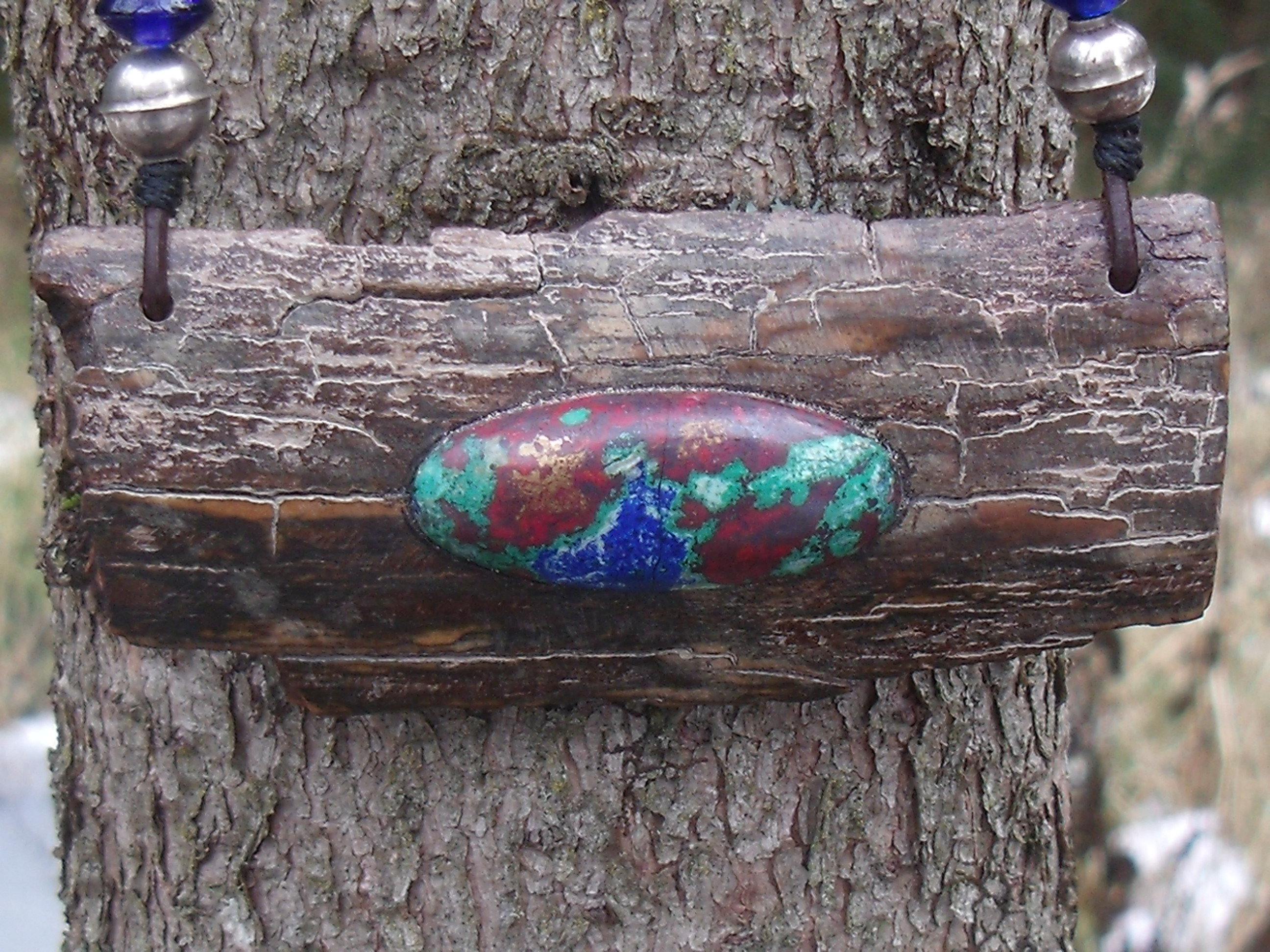 Cerrillos Turquoise Pendant