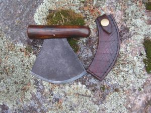 Ulu Knife/Axe and Stand