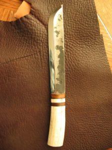 Leuku Hand Forged Puronvarsi Blade