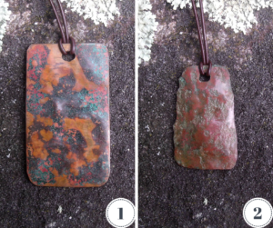 1-of-a-kind Copper Pendants