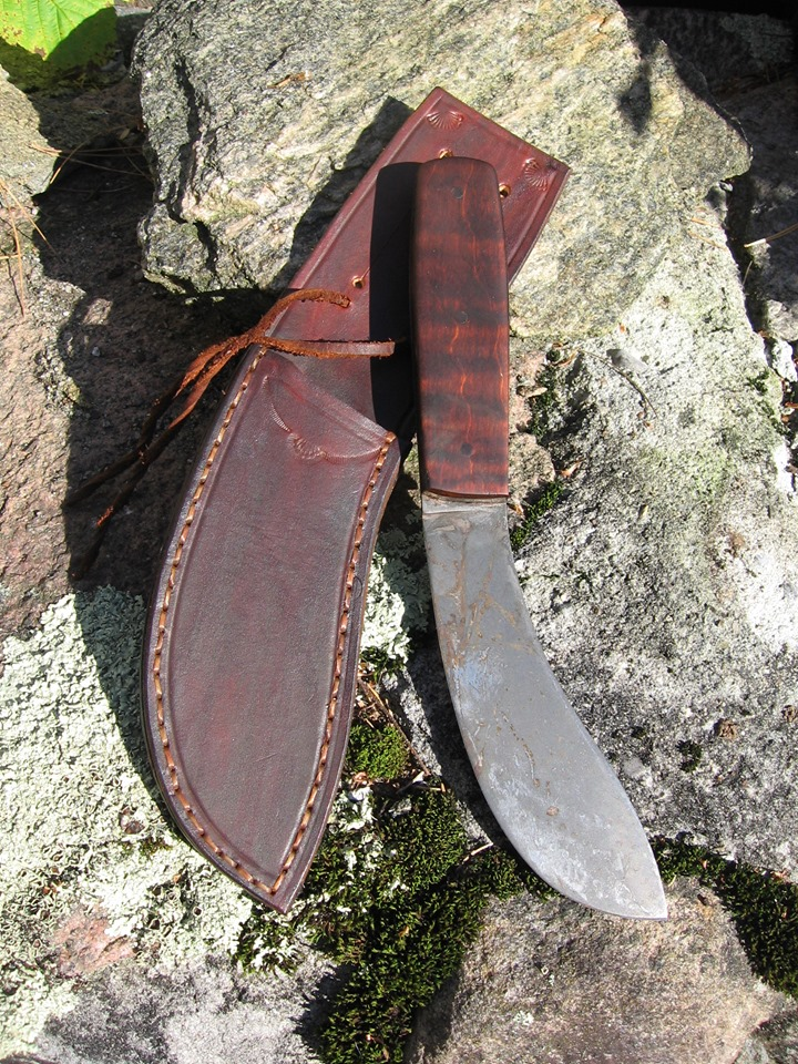 Green River Buffalo Skinner and Sheath